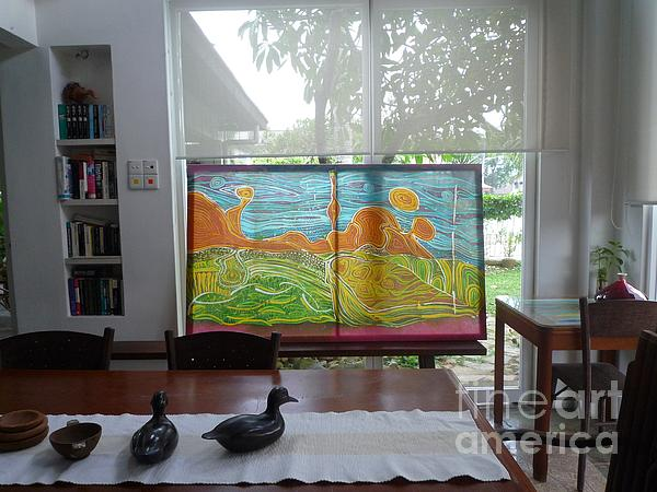Oliver Wong - Batik Abstract in my house