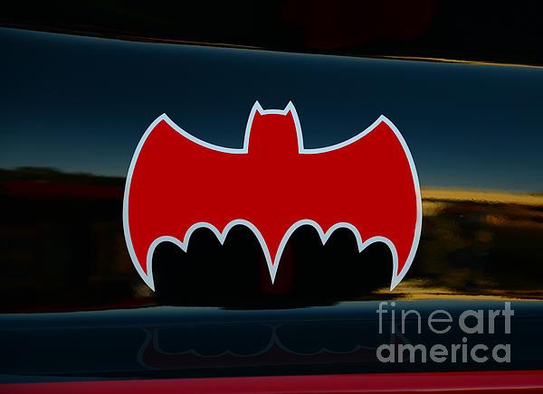 Batman - Batmobile - Dark Knight Print by Paul Ward