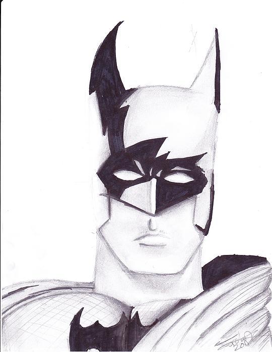 Batman Print by Jordan Jackson