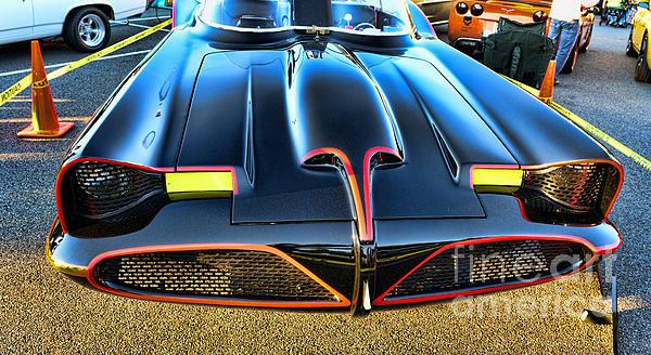 Batmobile - 2 Print by Paul Ward