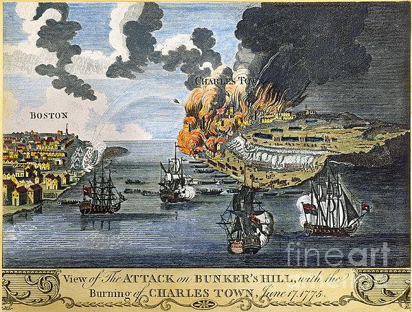 Naval Bombardment Battle-of-bunker-hill-1775-granger