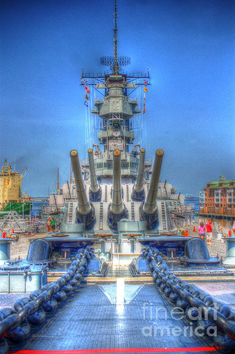 Battleship Print by Dan Stone
