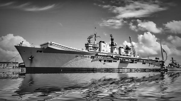 Battleships Print by Sharon Lisa Clarke