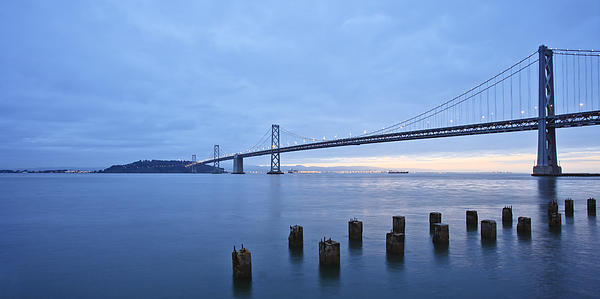 Gundi Vigfusson - Bay Bridge at Dawn