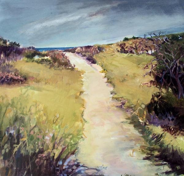 Bay Path Print by Diane Ursin