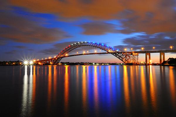 Bayonne Bridge Print by Paul Ward