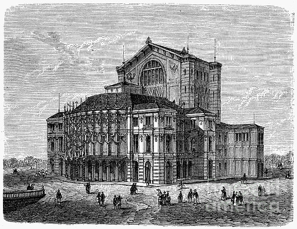 Bayreuth: Festspielhaus Print by Granger