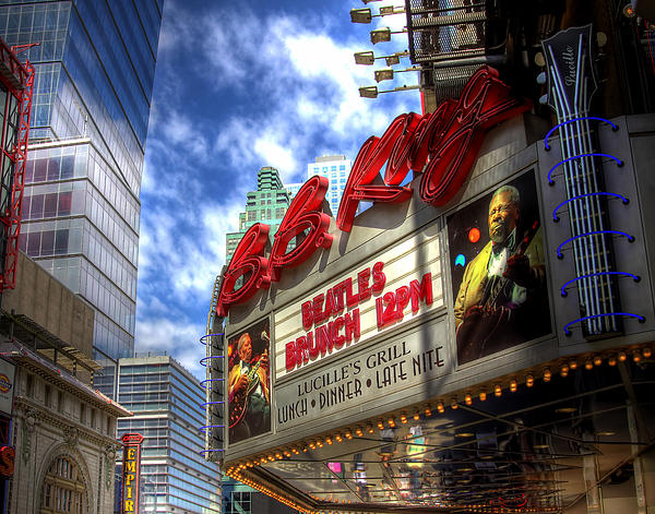 Bb Kings Place Print by Joe Paniccia