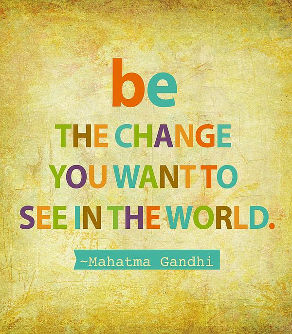 Cindy Greenbean - Be the change