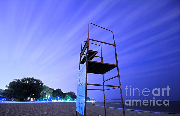 Charline Xia - Beach at Night
