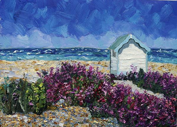 Nikki Wheeler - Beach Hut and Valerian