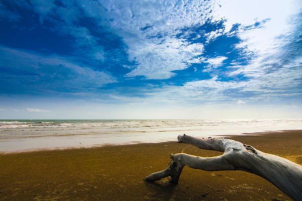Beach Print by Nawarat Namphon