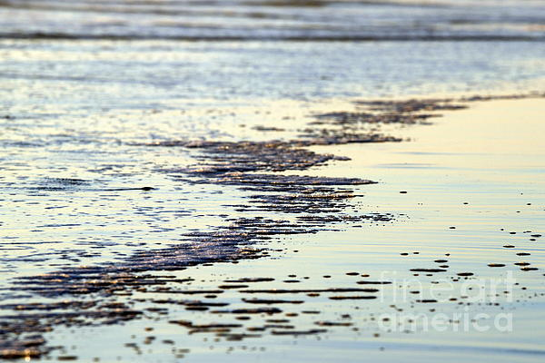 Beach Water Print by Henrik Lehnerer