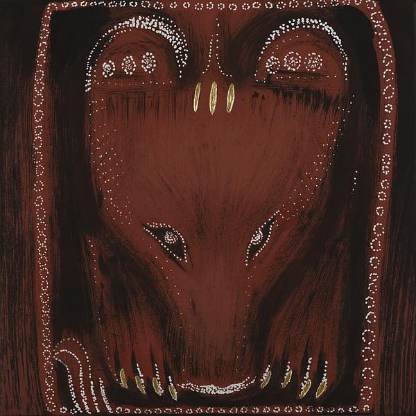 Bear Print by Sophy White