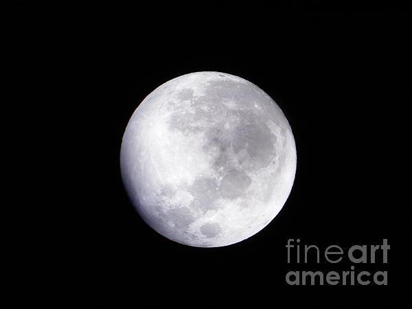 Beautiful Moon Print by Cindy Hudson