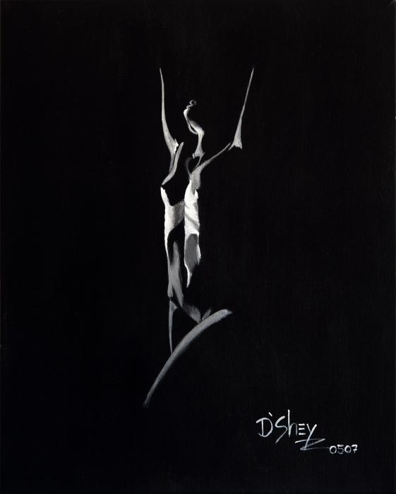 Beauty In The Shadows 6 Painting  - Beauty In The Shadows 6 Fine Art Print