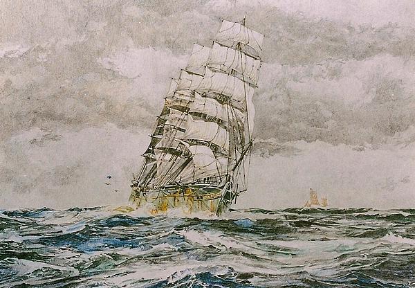 Before The Wind Print by Rex Stewart