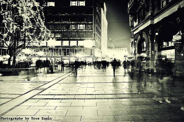 Belgrade... Print by Uros Zunic