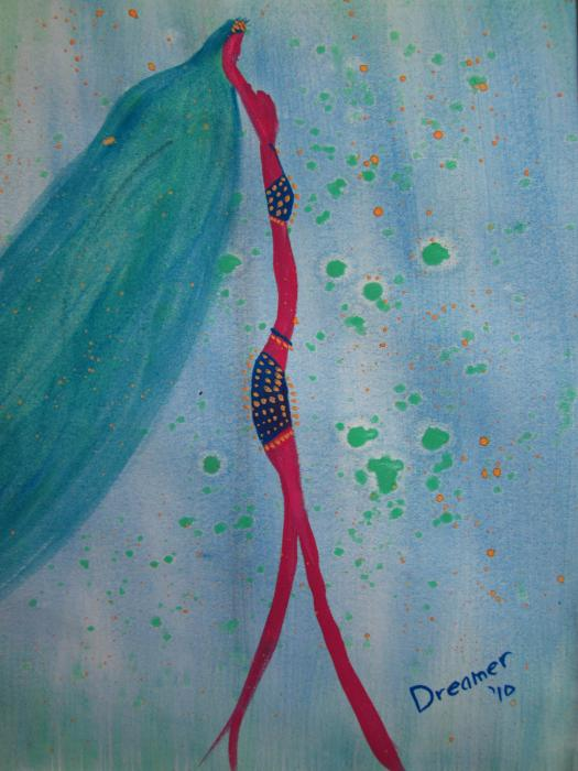 Belly Dancer Painting  - Belly Dancer Fine Art Print