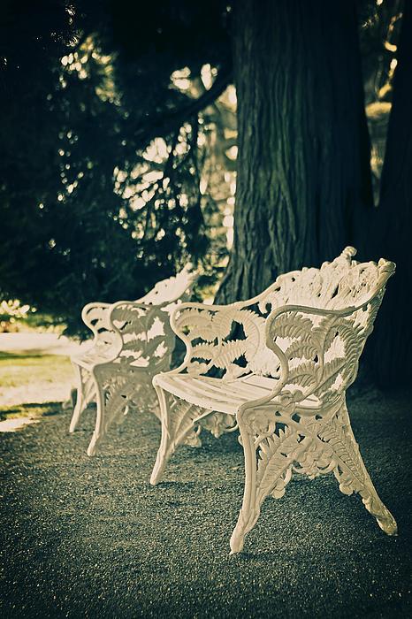 Benches Print by Joana Kruse