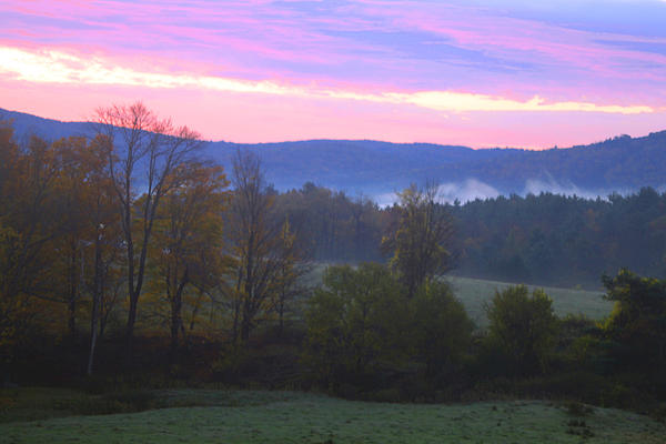 Berkshires Sunrise Print by Todd Breitling