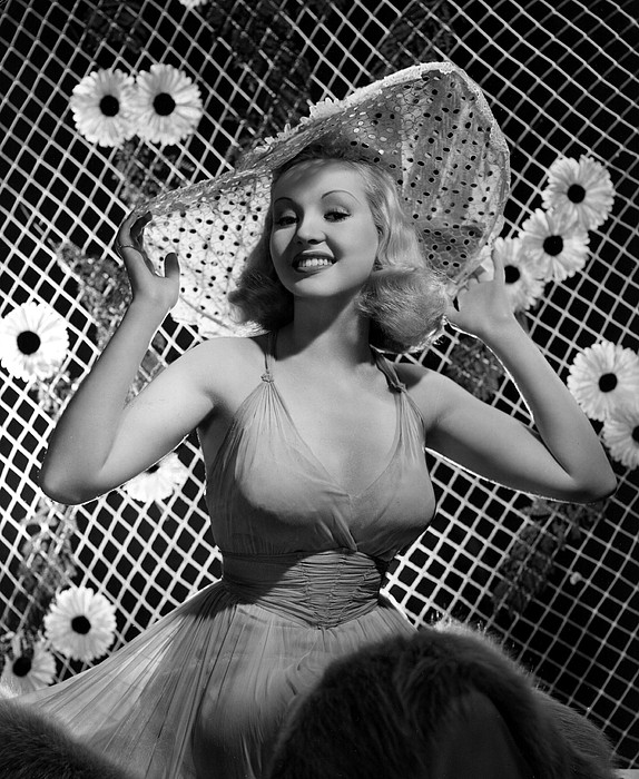 Betty Grable, 1938 Print by Everett