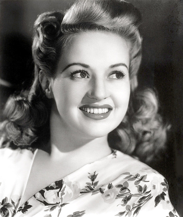Betty Grable, Circa 1940s Print by Everett