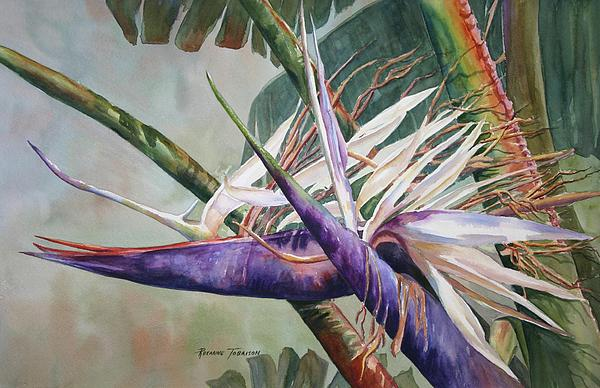 Bettys Bird - Bird Of Paradise Painting