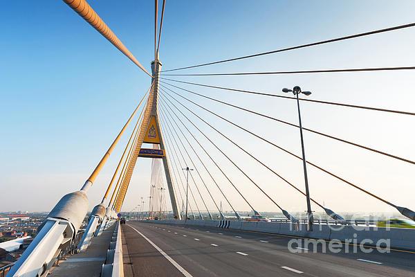 Bhumipol Bridge Print by Atiketta Sangasaeng