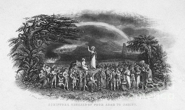 Bible: Jesus, 1833 Print by Granger