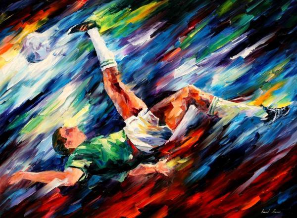 Leonid Afremov - Bicycle Kick