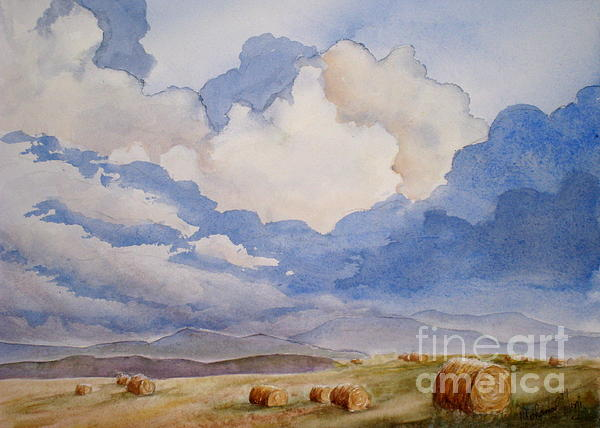 Big Alberta Sky Print by Mohamed Hirji