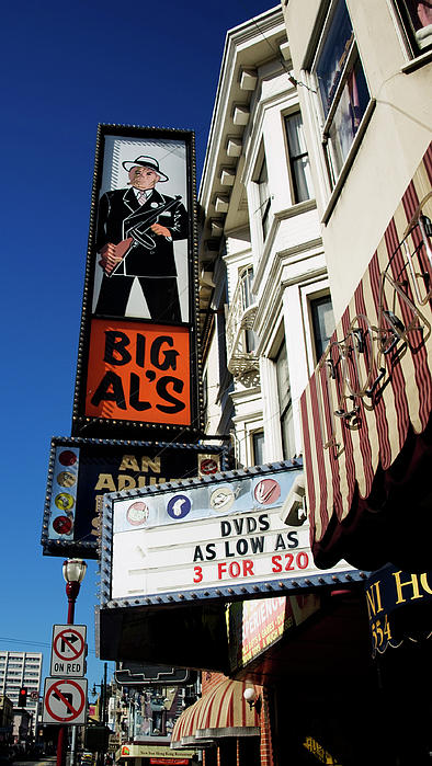 Big Al's Print by Mary Capriole