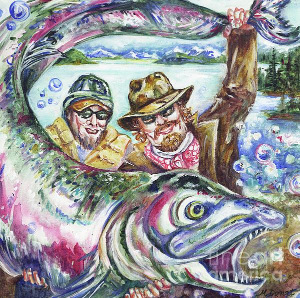 Big fish stories by margaret donat for Big fish printing