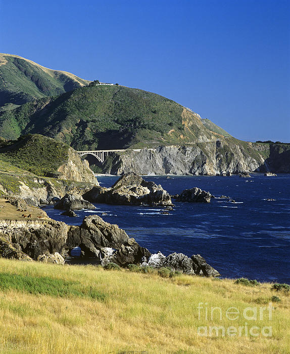 Big-sur-t1-3 Print by Craig Lovell