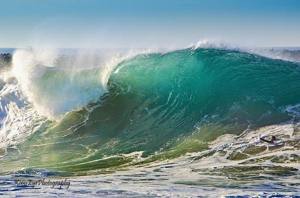 Kim Wimberly - Big wave-little camera man