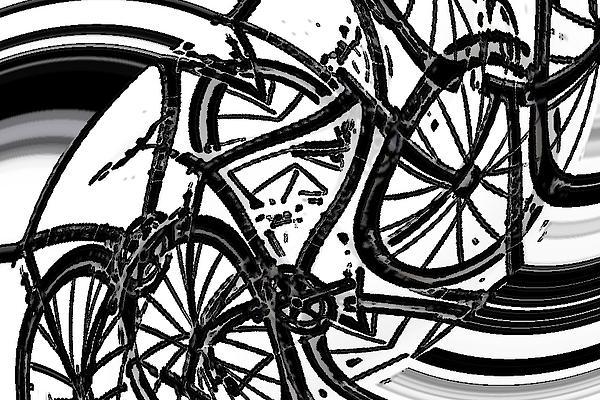 Bike Dance Print by James  Christiansen