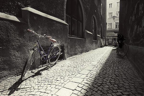 Bike Print by Mark Wagoner