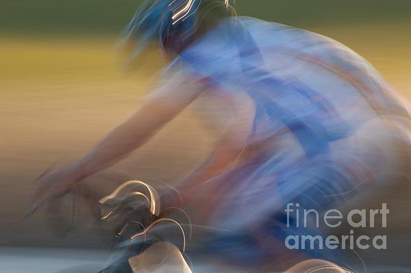Bike Race 2 Print by Catherine Lau