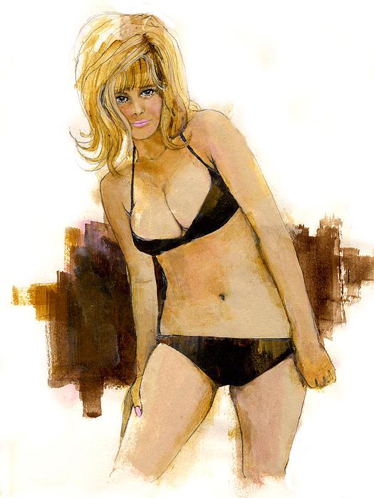 Bikini Beauty Print by Paul Sachtleben