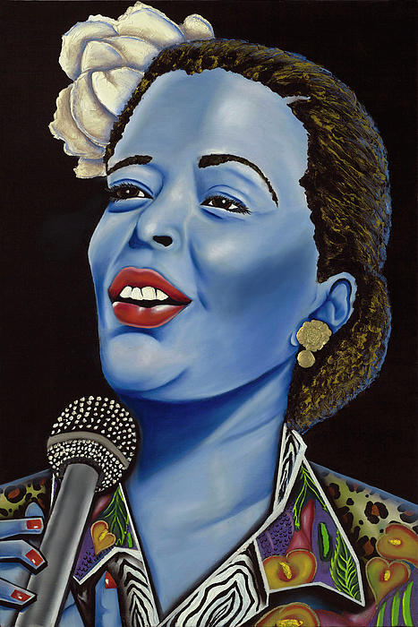 Billie Print by Nannette Harris