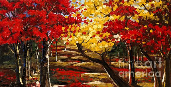 Madhav Singh - Birch Forest 2