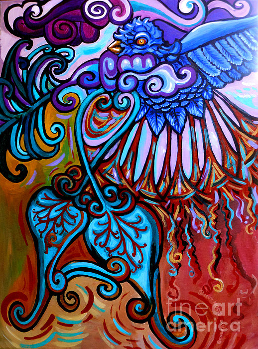 Bird Heart II Print by Genevieve Esson