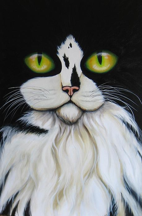 Nicole Ann OConnor - Black and White Cat
