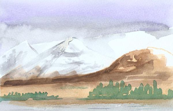 Black Mount Print by Jim Green