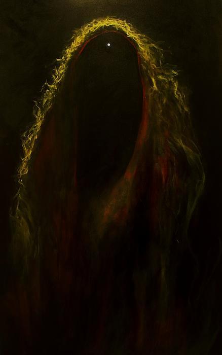Black Widow Pulsar Print by Alizey Khan