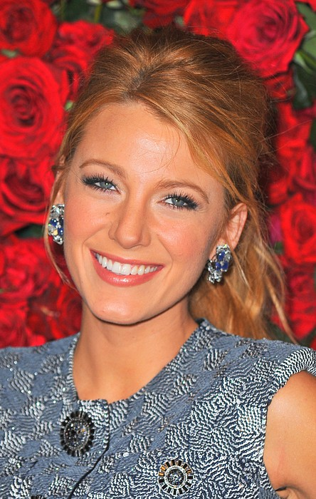 Blake Lively At Arrivals For Momas 4th Print by Everett