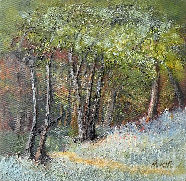 Margo Wolfe - Blazing Forest III