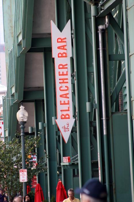 Bleacher Bar Print by Greg DeBeck