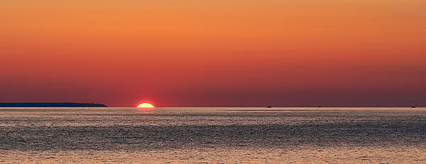Block Island Sunrise Print by William Jobes